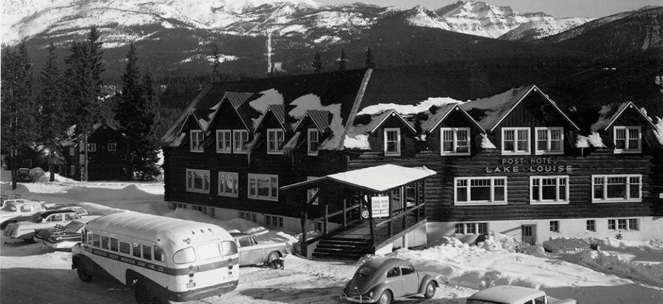 lake louise hotel & spa - history | the post hotel